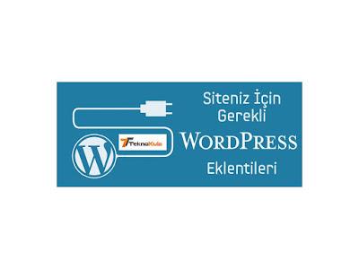 Wordpress Bloglarda Bulunması Gereken Eklentiler