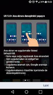 LG G3 İçin LG G5 Launcher ve Klavye İndir