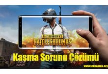 Photo of Mobile Pubg Kasma Sorunu Çözümü