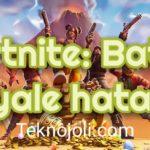 Fortnite-Battle-Royale-Hataları