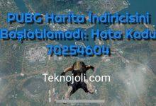Photo of PUBG Harita İndiricisini Başlatılamadı: Hata Kodu 70254604