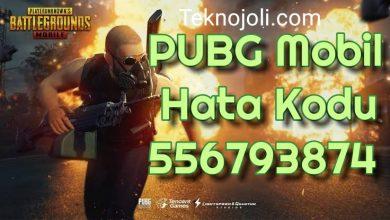 Photo of PUBG Mobile Hata Kodu 556793874 (Kesin Çözüm) (3 Farklı Yöntem)