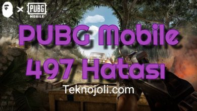 Photo of PUBG Mobile 497 Hatası
