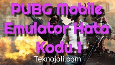 Photo of PUBG Mobile Emulator Hata Kodu 1