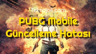 Photo of PUBG Mobile Güncelleme Hatası