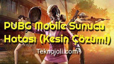 Photo of PUBG Mobile Sunucu Hatası (Kesin Çözüm!)