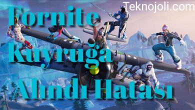 Photo of Fornite Kuyruğa Alındı Hatası