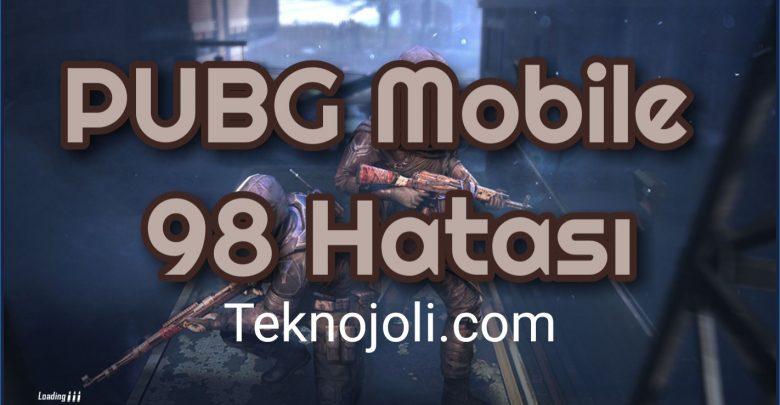PUBG Mobile 98 Hatası