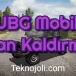 PUBG Mobile Ban Kaldırma