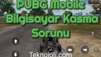 Photo of PUBG Mobile Bilgisayar Kasma Sorunu