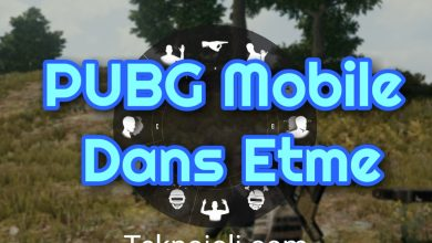 Photo of PUBG Mobile Dans Etme