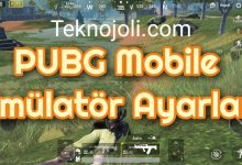 Photo of PUBG Mobile Emülatör Ayarları