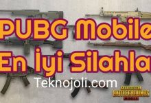 Photo of PUBG Mobile En İyi Silahlar