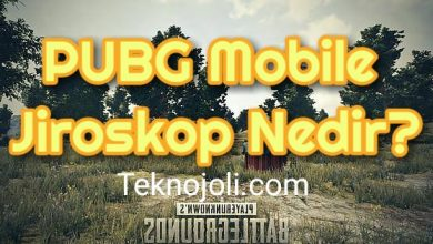 Photo of PUBG Mobile Jiroskop Nedir?