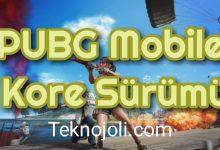 Photo of PUBG Mobile Kore Sürümü