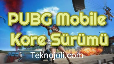 Photo of PUBG Mobile Kore Sürümü
