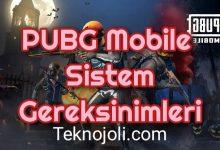 Photo of PUBG Mobile Sistem Gereksinimleri