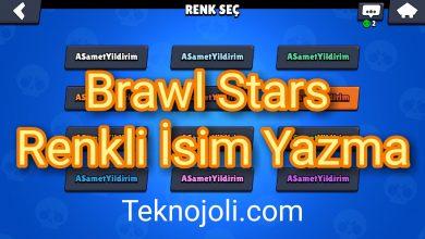 Photo of Brawl Stars Renkli İsim Yazma (Kod Kullanmadan 5 Dakikada Yapın)
