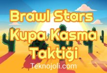 Photo of Brawl Stars Kupa Kasma Taktiği