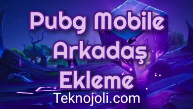 Photo of Pubg Mobile Arkadaş Ekleme
